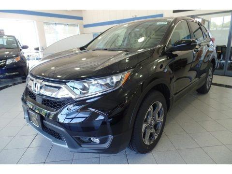 Crystal Black Pearl 2019 Honda CR-V EX-L
