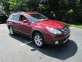 Subaru Outback 2.5i Limited Venetian Red Pearl photo #4