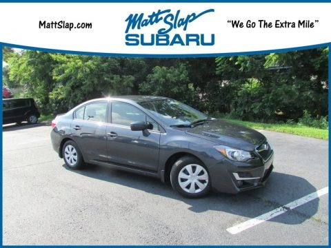 Dark Gray Metallic 2016 Subaru Impreza 2.0i 4-door