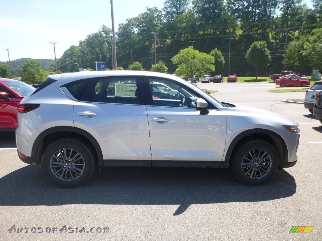 2019 CX-5 Sport AWD - Sonic Silver Metallic / Black photo #1
