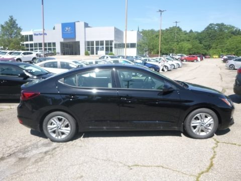 Phantom Black 2020 Hyundai Elantra Value Edition