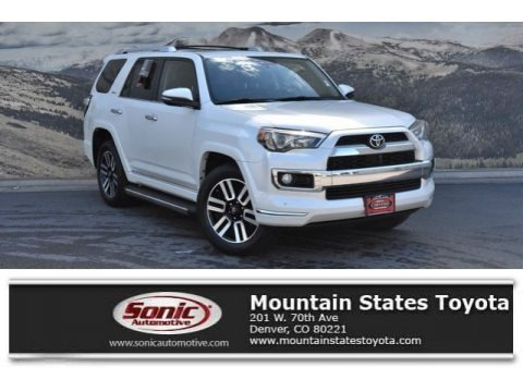 Blizzard White Pearl 2016 Toyota 4Runner Limited 4x4
