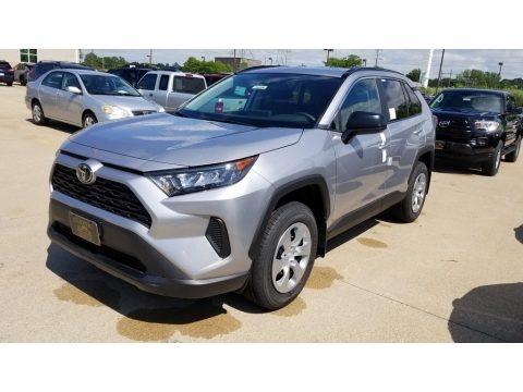 Silver Sky Metallic 2019 Toyota RAV4 LE