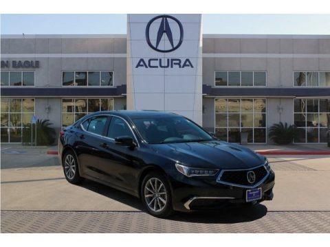 Majestic Black Pearl 2020 Acura TLX V6 Technology Sedan
