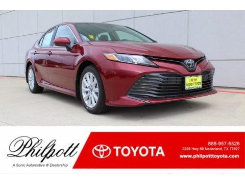 Ruby Flare Pearl 2019 Toyota Camry LE