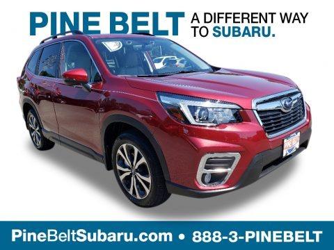 Crimson Red Pearl 2019 Subaru Forester 2.5i Limited