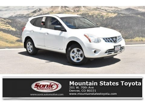 Pearl White 2011 Nissan Rogue S AWD