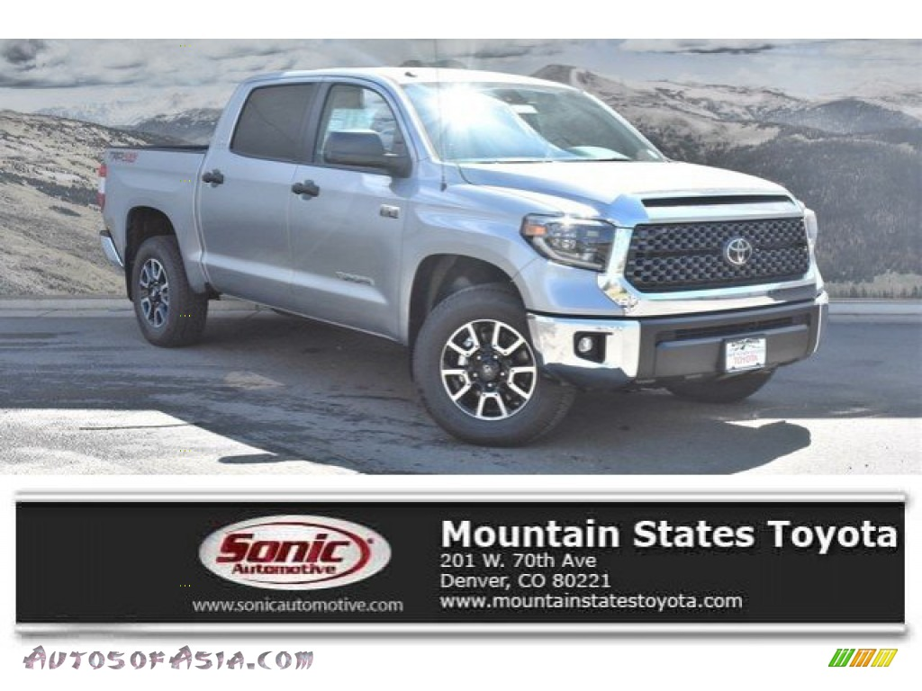 2019 Tundra SR5 CrewMax 4x4 - Silver Sky Metallic / Graphite photo #1