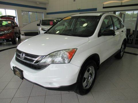 Taffeta White 2011 Honda CR-V LX 4WD