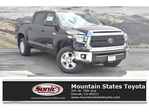 Midnight Black Metallic 2019 Toyota Tundra SR5 CrewMax 4x4