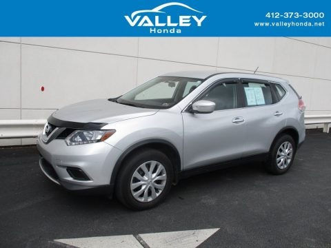 Brilliant Silver 2014 Nissan Rogue SV AWD