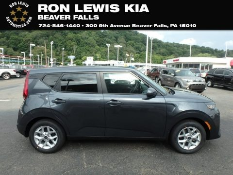 Gravity Gray 2020 Kia Soul S