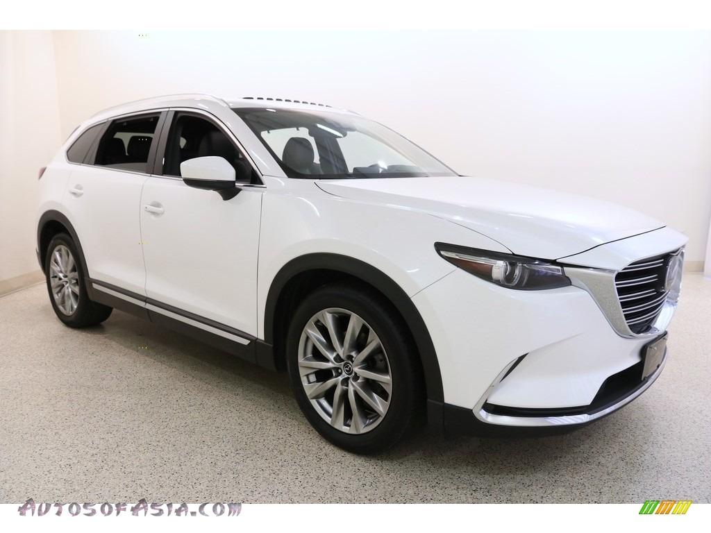 2016 CX-9 Grand Touring AWD - Snowflake White Pearl / Black photo #1