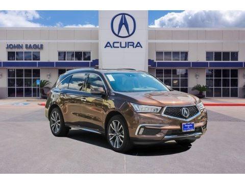 Canyon Bronze Metallic 2019 Acura MDX Advance