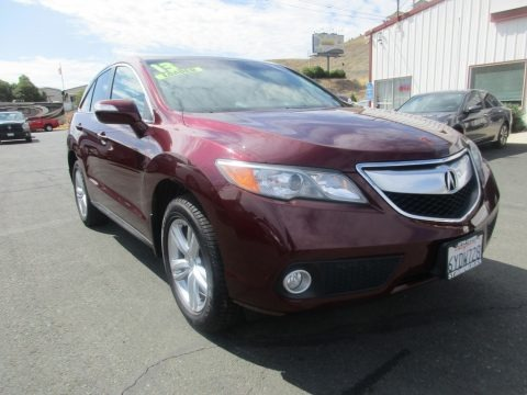 Basque Red Pearl II 2013 Acura RDX Technology