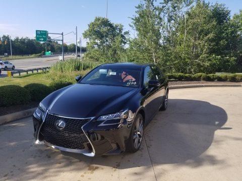 Obsidian 2019 Lexus GS 350 F Sport AWD