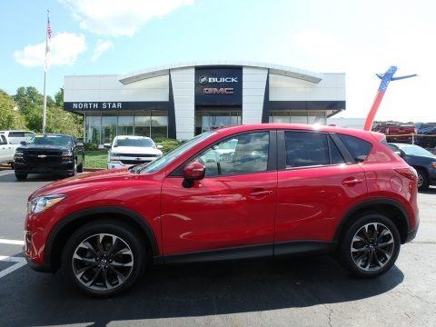 Soul Red Metallic 2016 Mazda CX-5 Grand Touring AWD