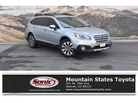 Ice Silver Metallic 2016 Subaru Outback 2.5i Limited