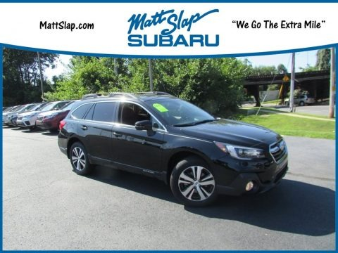 Crystal Black Silica 2019 Subaru Outback 2.5i Limited
