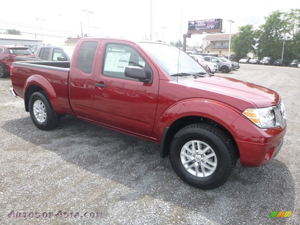 2019 Frontier SV King Cab 4x4 - Cayenne Red / Steel photo #1