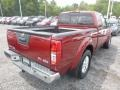 Nissan Frontier SV King Cab 4x4 Cayenne Red photo #4