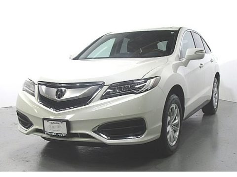 White Diamond Pearl 2017 Acura RDX Technology AWD