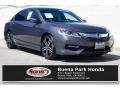 Honda Accord Sport Sedan Modern Steel Metallic photo #1
