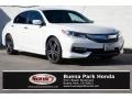 Honda Accord Sport Sedan White Orchid Pearl photo #1
