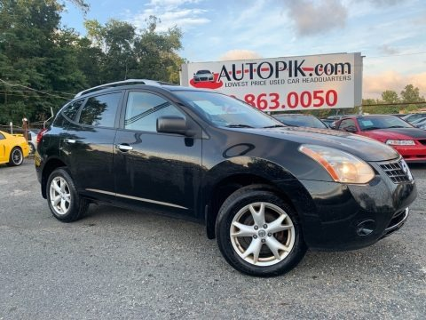 Wicked Black 2010 Nissan Rogue SL AWD