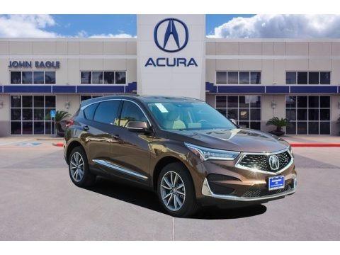 Canyon Bronze Metallic 2020 Acura RDX Technology