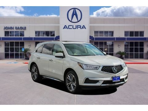Platinum White Pearl 2020 Acura MDX Technology