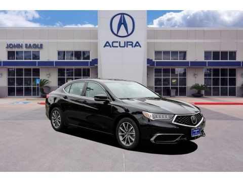 Majestic Black Pearl 2020 Acura TLX Sedan