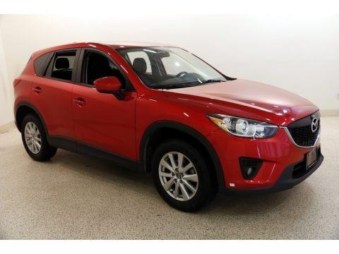 Soul Red Metallic 2014 Mazda CX-5 Touring AWD