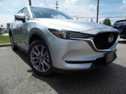 Sonic Silver Metallic 2019 Mazda CX-5 Grand Touring AWD