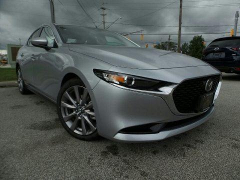Sonic Silver Metallic 2019 Mazda MAZDA3 Sedan