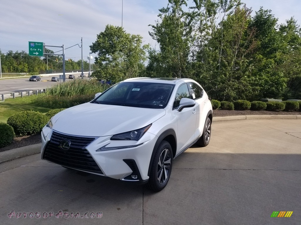 2020 NX 300 AWD - Eminent White Pearl / Rioja Red photo #1