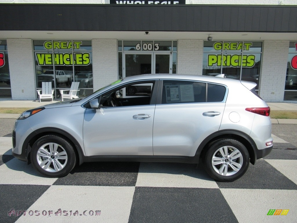 2019 Sportage LX - Sparkling Silver / Black photo #1
