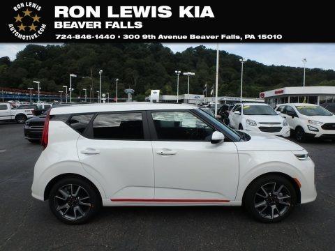 Snow White Pearl 2020 Kia Soul GT-Line