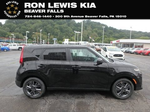 Cherry Black 2020 Kia Soul EX