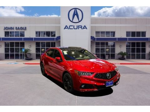 Valencia Red Pearl 2020 Acura TLX PMC Edition SH-AWD Sedan