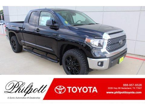 Midnight Black Metallic 2020 Toyota Tundra TSS Off Road Double Cab