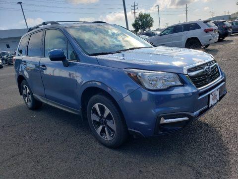 Quartz Blue Pearl 2018 Subaru Forester 2.5i Premium