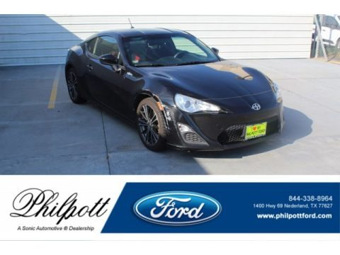 Raven Black 2013 Scion FR-S Sport Coupe