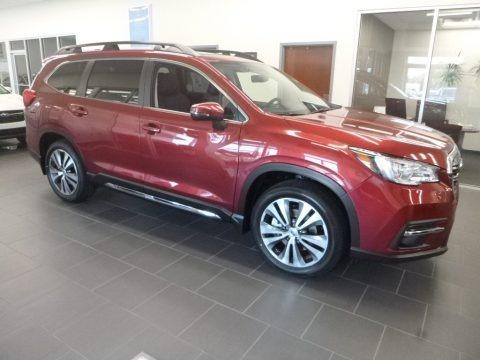 Crimson Red Pearl 2020 Subaru Ascent Limited