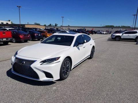 Eminent White Pearl 2019 Lexus LS 500 AWD
