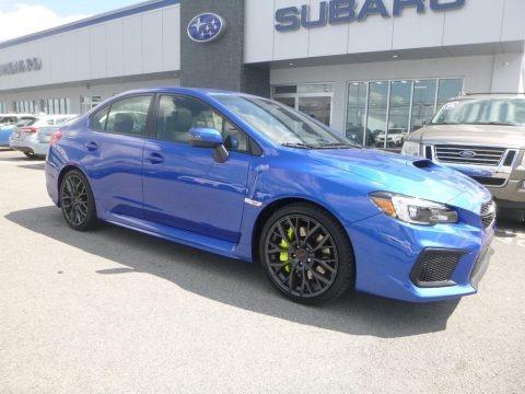 WR Blue Pearl 2019 Subaru WRX STI Limited