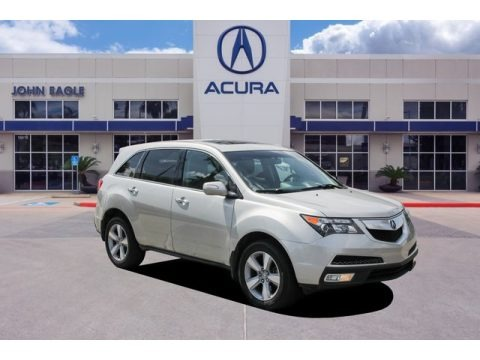 Palladium Metallic 2013 Acura MDX SH-AWD Technology