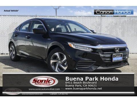 Crystal Black Pearl 2019 Honda Insight LX