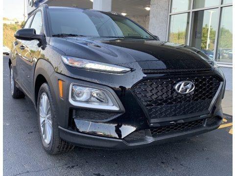 Ultra Black 2020 Hyundai Kona SEL AWD