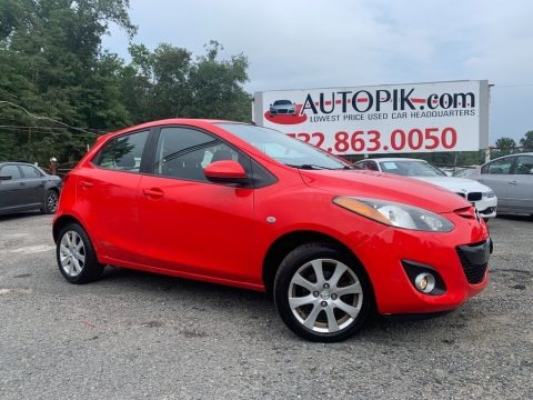 True Red 2012 Mazda MAZDA2 Touring